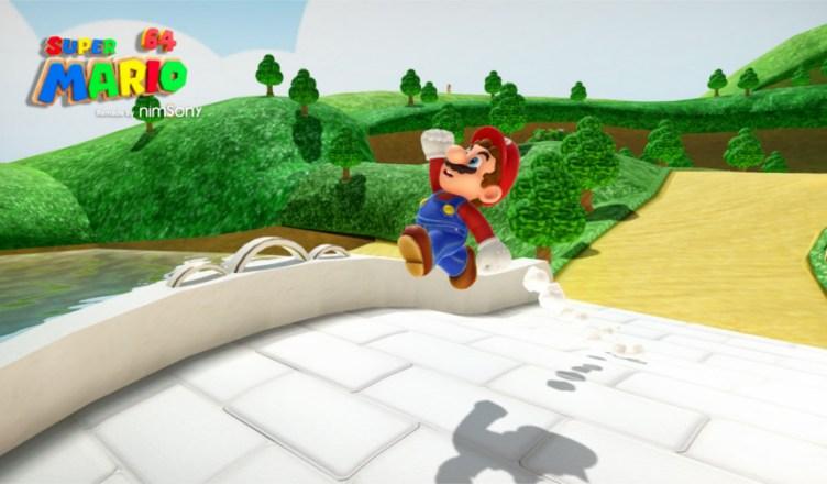 Super Mario 64 remasterización