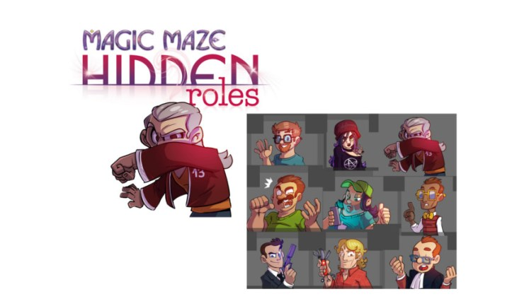 Magic Maze: Roles Ocultos