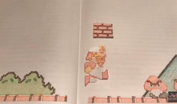 Super Mario Bros. cuaderno