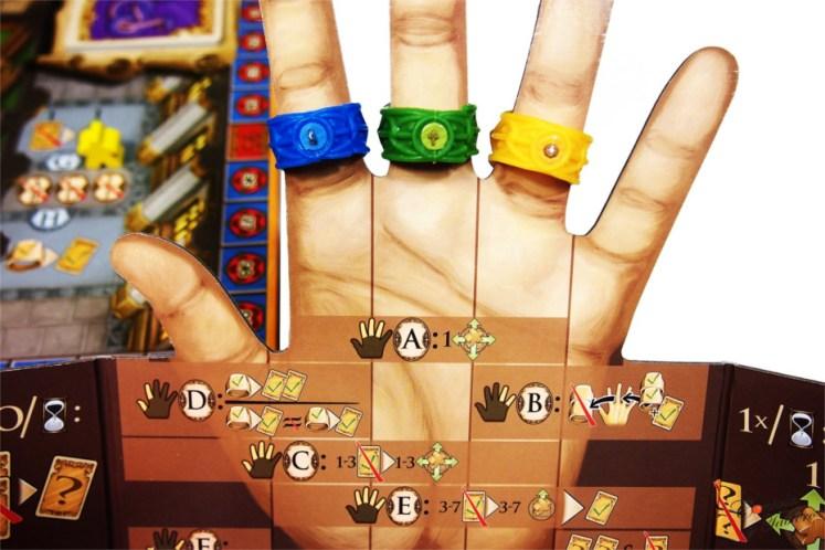 juego de mesa anillos