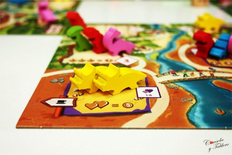 Draftosaurus juego de mesa