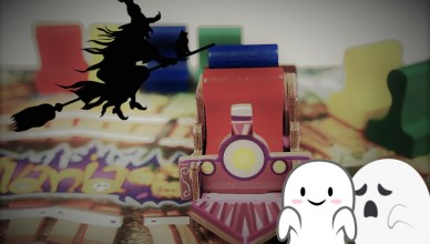 Halloween juegos de mesa