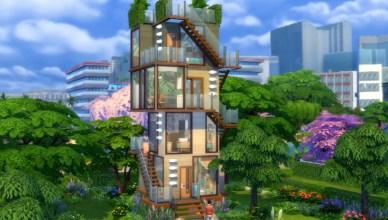 Los Sims 4 Minicasas