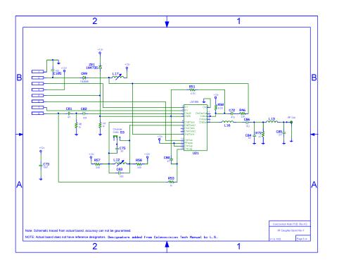 small resolution of colecovision main pcb schematic rev h2 1