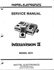 File:Intellivision II Service Manual, Model 5872.pdf
