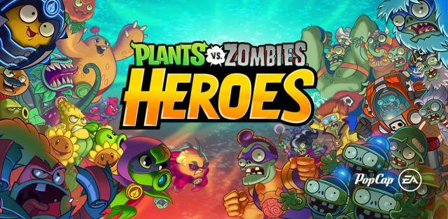 PvZ Heroes Header