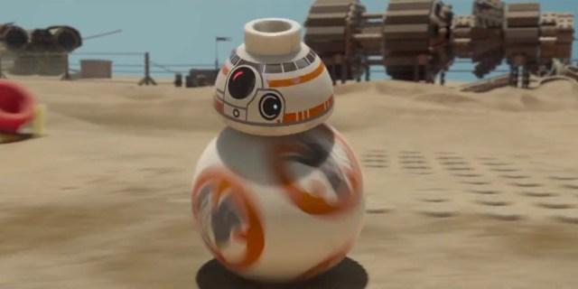 Lego Star Wars BB8 Header