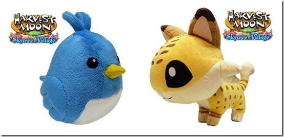 Harvest Moon Plushies
