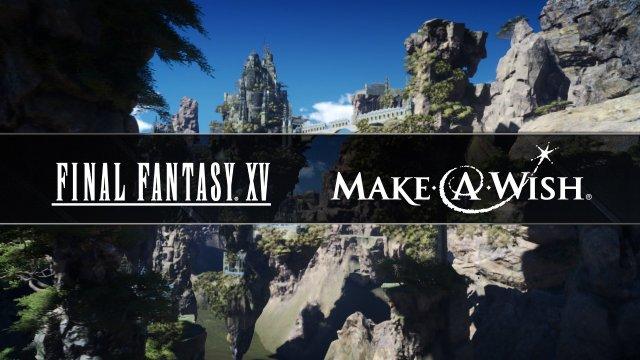 Square Enix Make A Wish Header