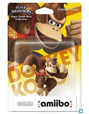 boite donkey kong amiibo super smash bros