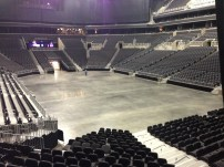 Great view of the arena