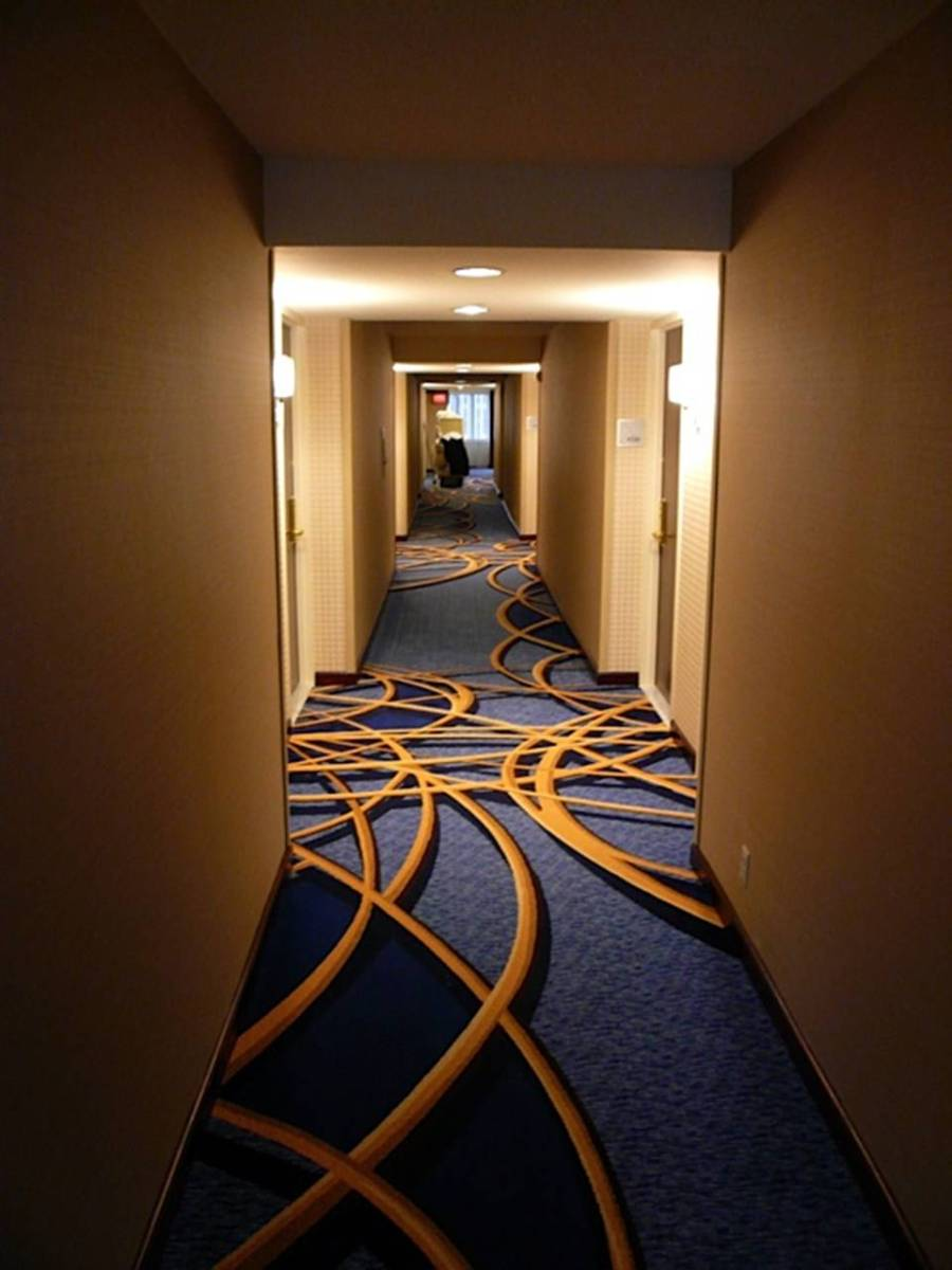 Crowne Plaza Hotel Times Square Corridor  Consolidated Carpet
