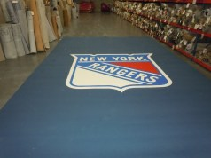 Custom Logo Carpet in our Warehouse