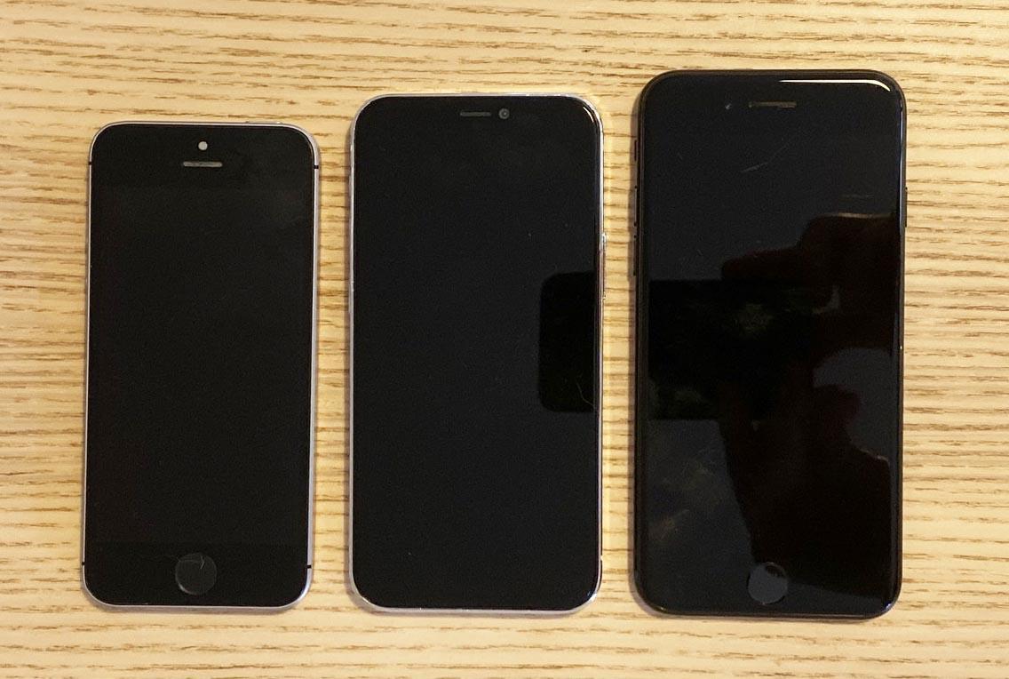 deux tailles d iphone se