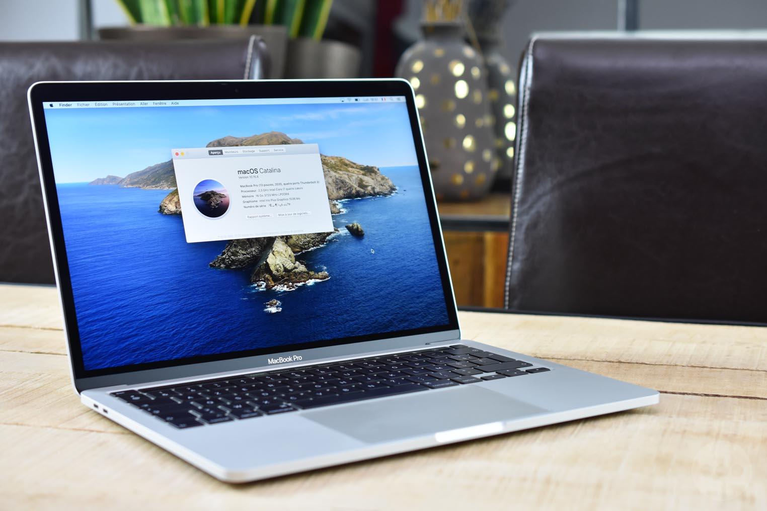 consomac notre test des macbook pro