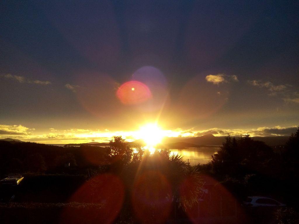 Coucher de soleil en Irlande - Voyager c'est se sentir vivant