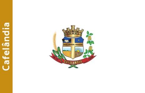 cafelandia bandeira brasao cidade parana
