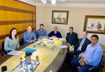 Presidente e Secretário Executivo do Consórcio Piquiri vão até Astorga conhecer os serviços desenvolvidos pelo Consórcio Cindepar parana
