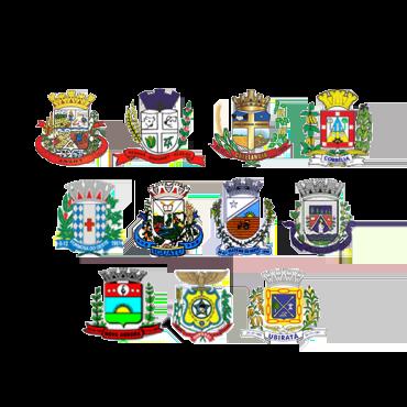 brasoes municipios consorciados -