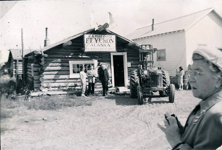 Keyword Fort Yukon 183 Post Offices Of Alaska 183 Archives And Special