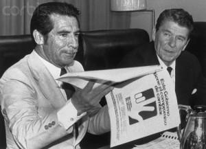 President Ronald Reagan meeting with Guatemalan dictator Efrain Rios Montt, From GoogleImages