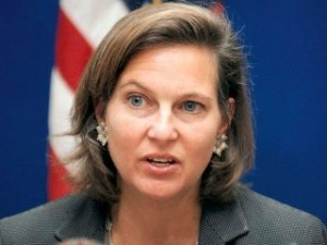 Assistant Secretary of State for European Affairs Victoria Nuland.