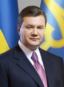 Ousted Ukrainian President Viktor Yanukovych.