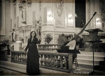 Un concert... une église