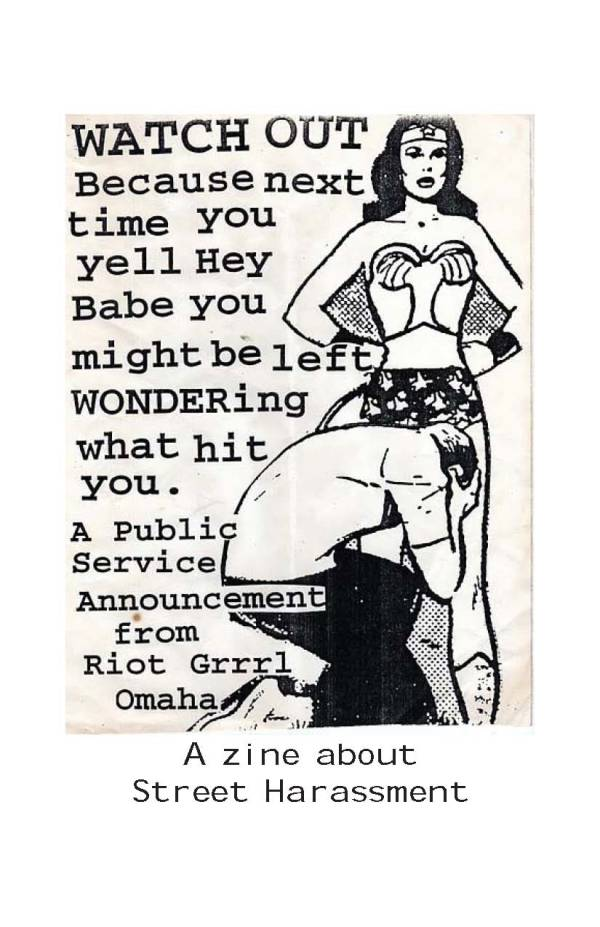 Street Harassment Zine