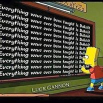 BART SIMPSON EVERTHING A LIE