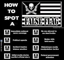 how to spot false flag