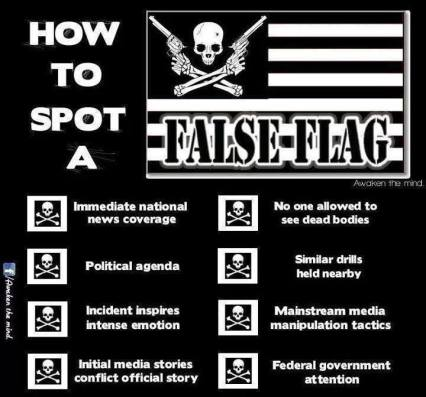 how to spot false flag