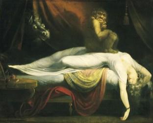 Henry Fuseli The Nightmare 1781