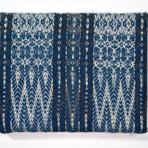 Handwoven textile wall art – Pacific Medallion