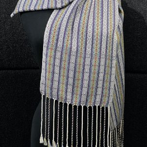 SBS-52 Scottish Charcoal silk scarf