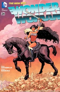 Wonder Woman #24 cover by Cliff Chang