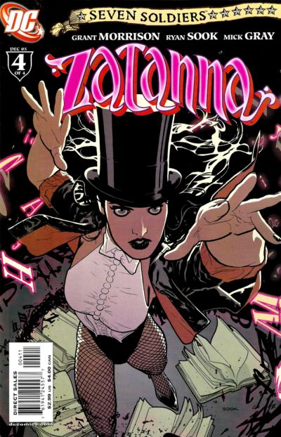 Cover for Zatanna's first issue of Seven Soldiers