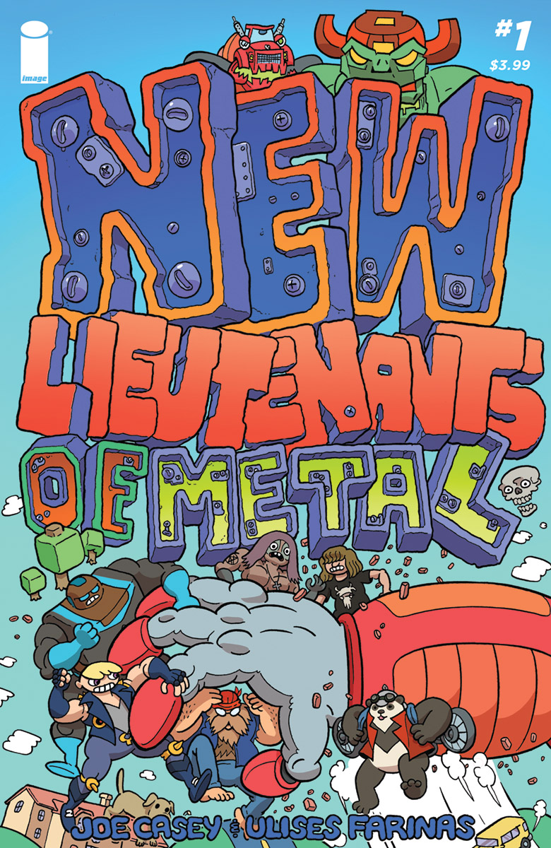 THE NEW LIEUTENANTS OF METAL #1 (2018)