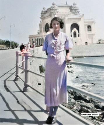 Frumusete si eleganta la sfarsitul anilor '30 colorized