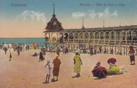 Plaja Mamaia interbelică