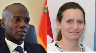 Haïti / Questions post-Matthew : Président Moïse rencontre l'Union Européenne 1