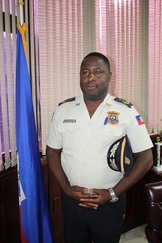Rencontre entre ODJSP et le Directeur Départemental de la Grand'Anse, le Commissaire Divisionnaire, Berson Soljour
