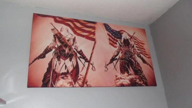 Impression sur toile Assassin's Creed 3