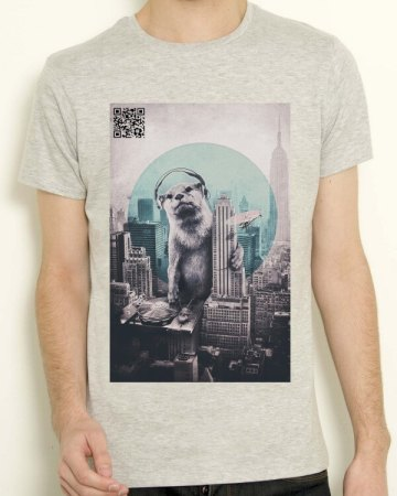 T-shirt QR Empire