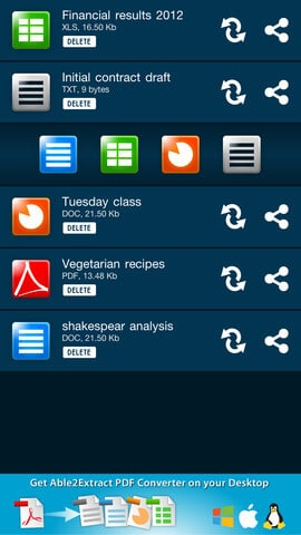 Able2Extract: Convertissez et créez vos documents PDF sur vos smartphones ! | Le blog de Constantin