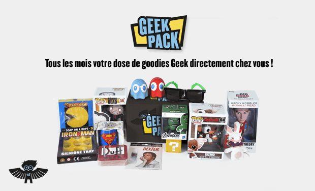 Geek Pack : la première box avec abonnement pour Geek arrive bientôt en France | Le blog de Constantin