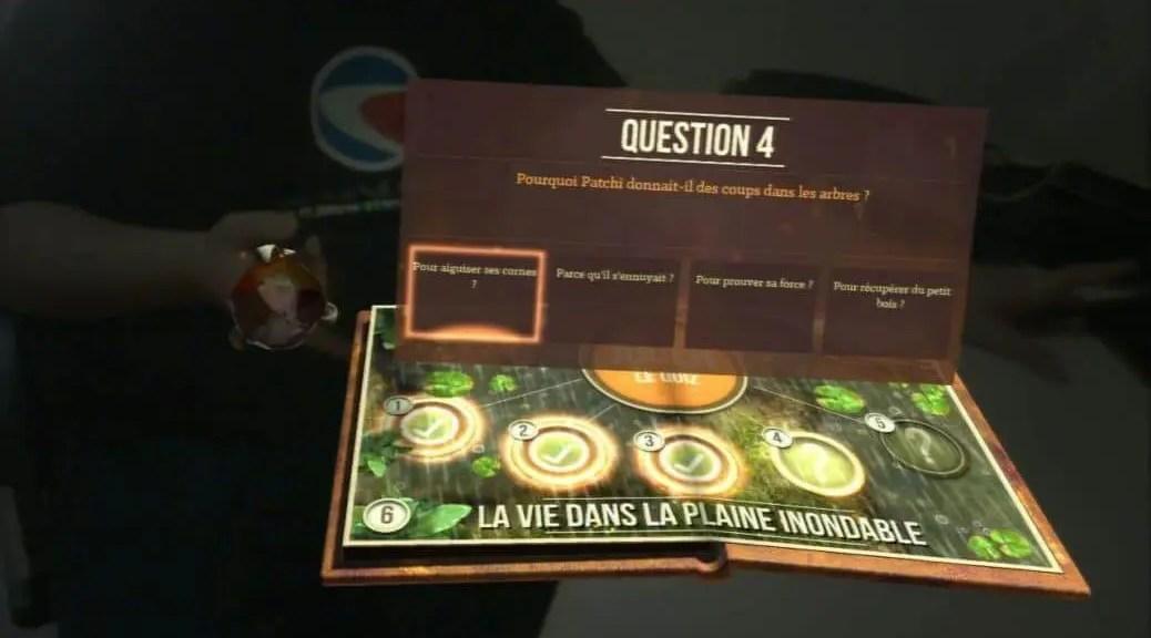 Test PS3: Wonderbook: Sur la terre des Dinosaures | Le blog de Constantin