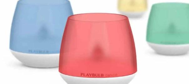 Avis - Playbulb, la bougie connectée   Le blog de Constantin