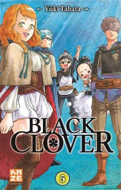 Avis Manga – Black Clover T5 & T6