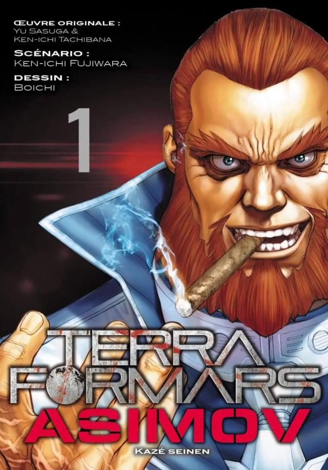 Avis Manga – Terra Formars Asimov T1